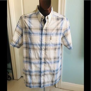 MEN'S Columbia PFG Fishing Shirt SS vented Size XL